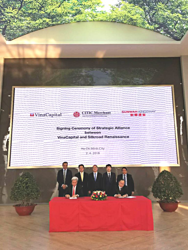 Vinacapital Group And Silkroad Renaissance Signed A Strategic