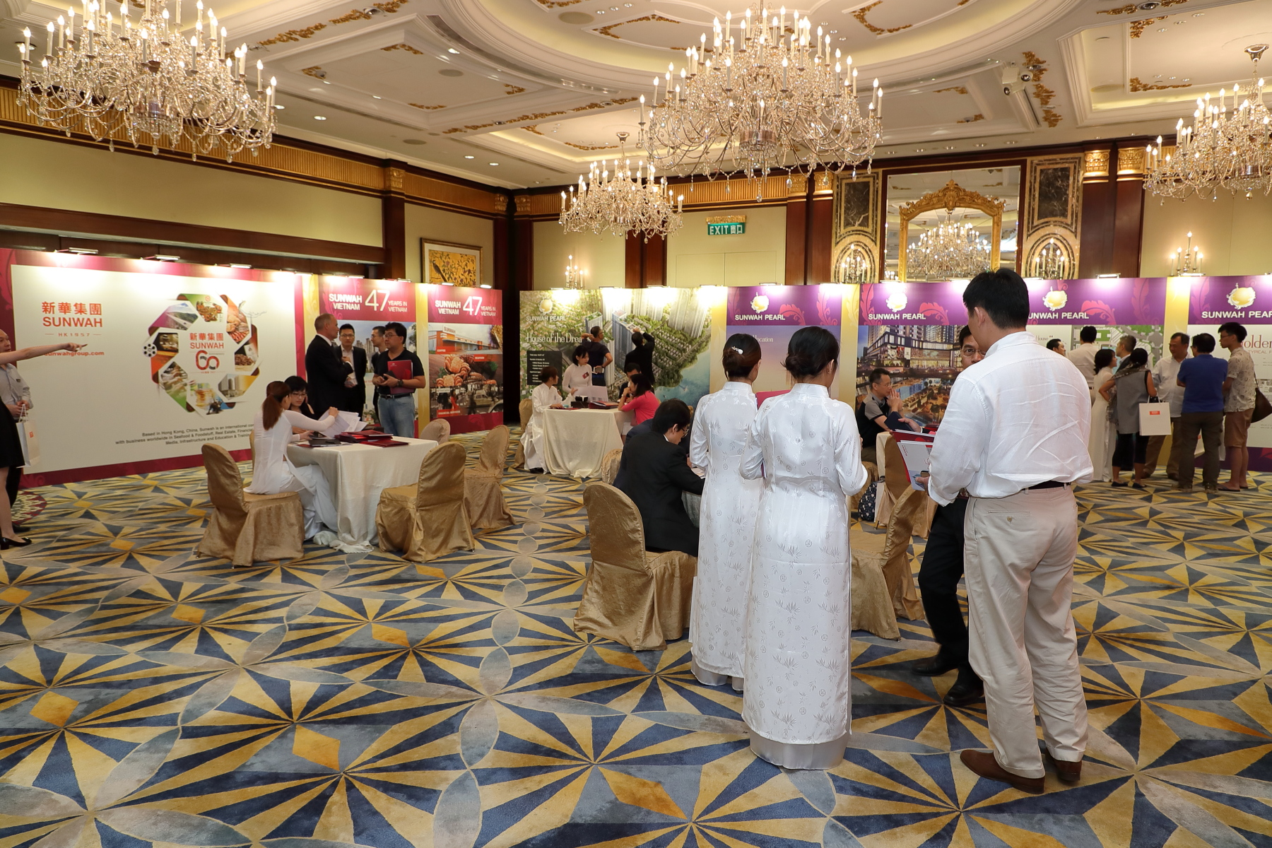 More than 200 guests attended the Sunwah Pearl Project Launch Ceremony in Hong Kong